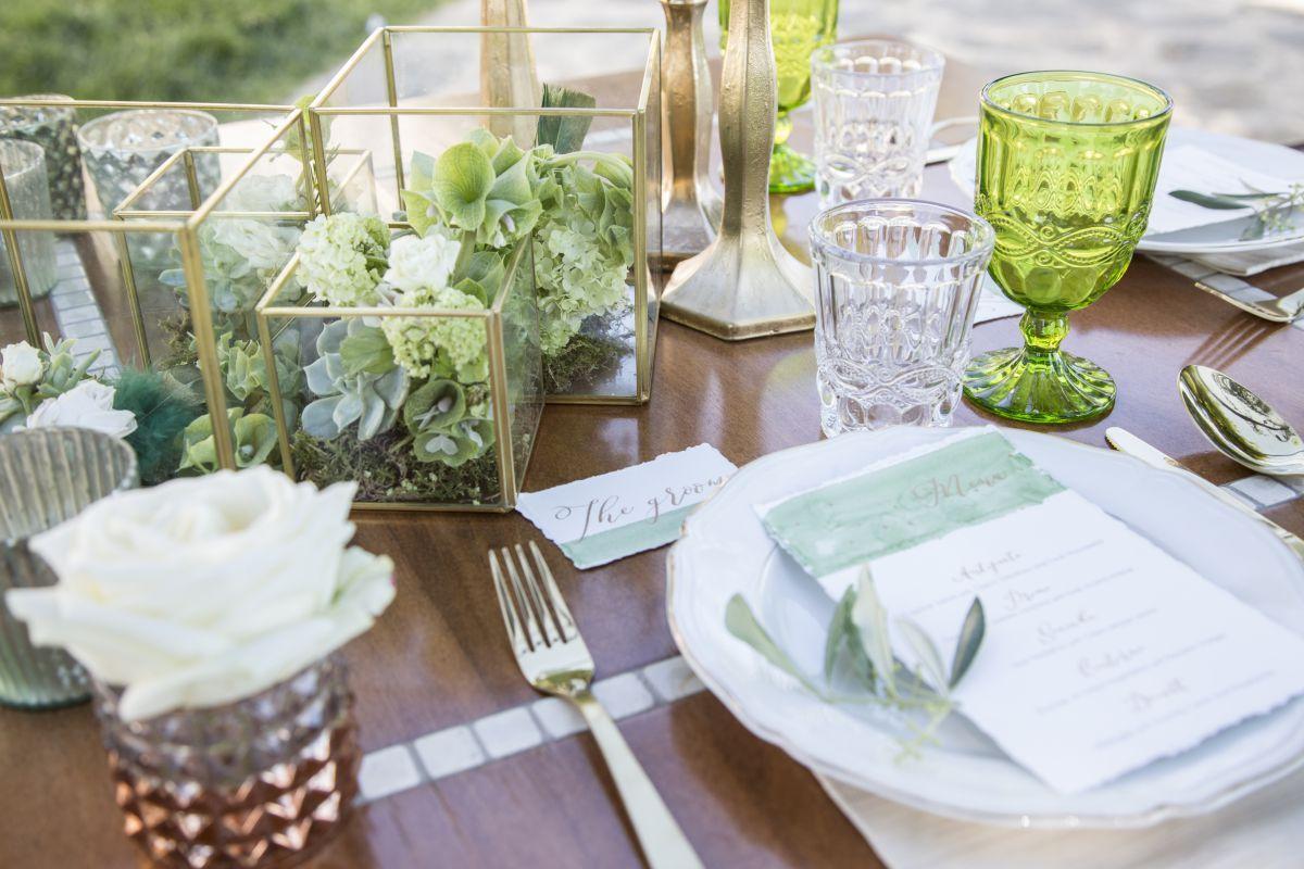 Allestimenti e mise en place all'Italian Wedding Workshop di Firenze
