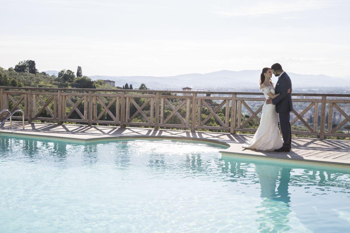 Lo shooting fotografico realizzato dagli aspiranti wedding planner all'Italian Wedding Workshop