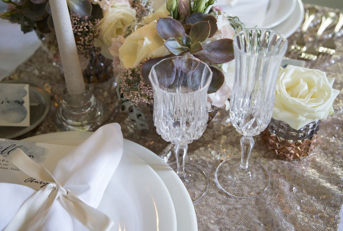 Ideare e realizzare ad arte la mise en place all'Italian Wedding Workshop