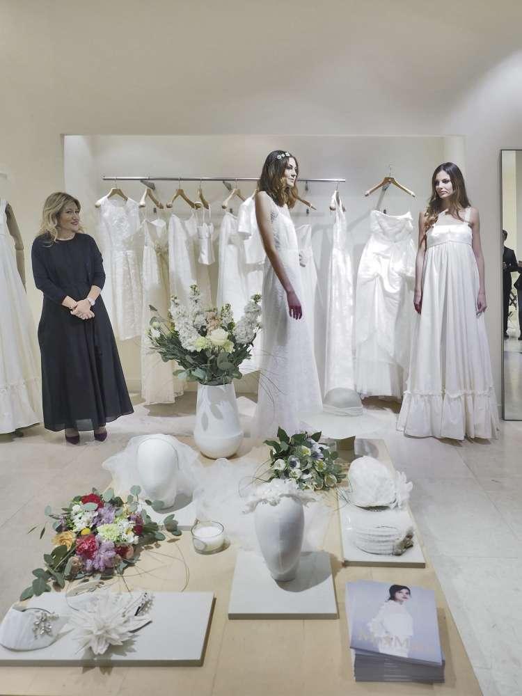 Max Mara Bridal a Catania, la nuova collezione presentata da Anna Frascisco. Photo Credits: Alfio Bonina