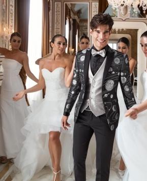 Abiti da sposo Andrea Versali 2018, la collezione ispirata ai pianeti