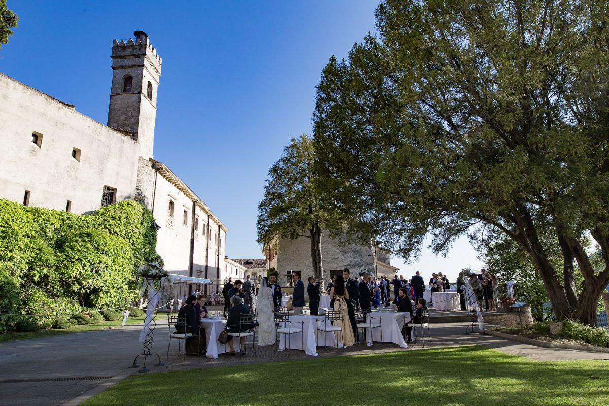A Castelbrando il matrimonio internazionale di Miriam e Wadih