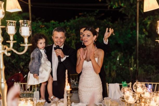 Fiorelli Wedding e il matrimonio a tema oro di Salvo e Maria Pia