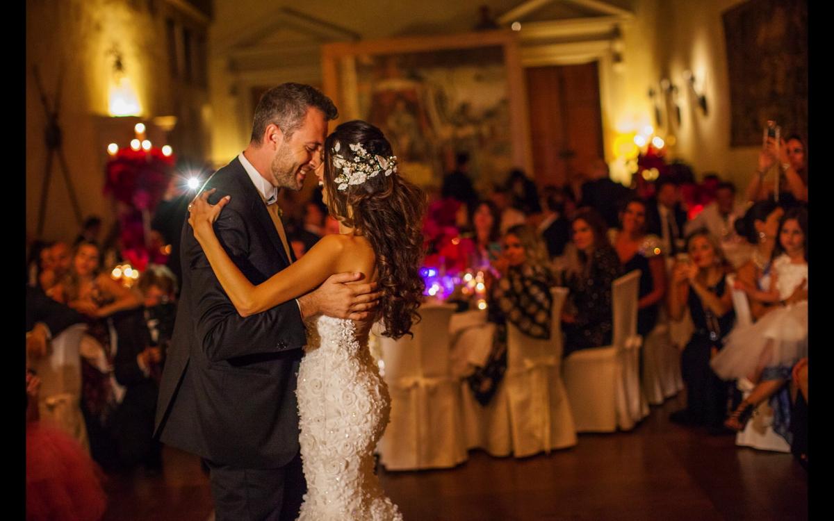 Il ballo di Miriam e Wadih a Castelbrando