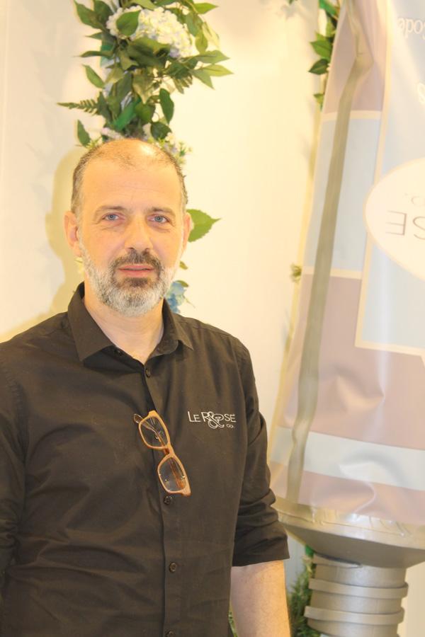 Alessandro il titolare di Le Rose & C.