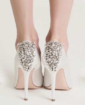 Scarpe da sposa 2018, come sceglierle e come abbinarle al bridal look