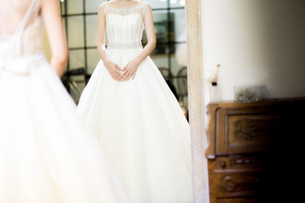 abito da sposa in base alla forma del corpo