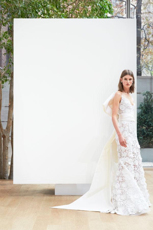 Abiti da sposa Oscar De La Renta 2018