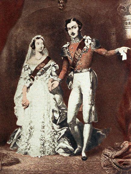 Modelli di abiti da sposa. L'abito della Regina Vittoria