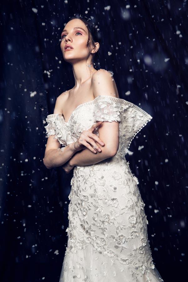 5861fd31fe72 Abiti da sposa Anny Lin Bridal 2019  si va oltre il bianco