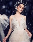 Lezardi 2019: pizzi, ricami e tocchi di colore per i nuovi abiti da sposa