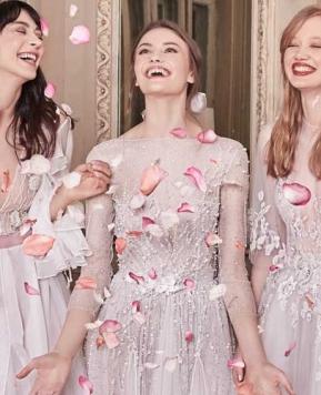 Otilia Brailoiu: semplicità e morbidezza le parole d'ordine degli abiti da sposa 2019