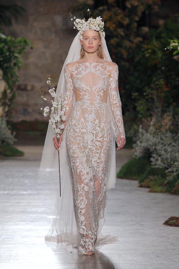 Abiti da sposa Reem Acra 2019