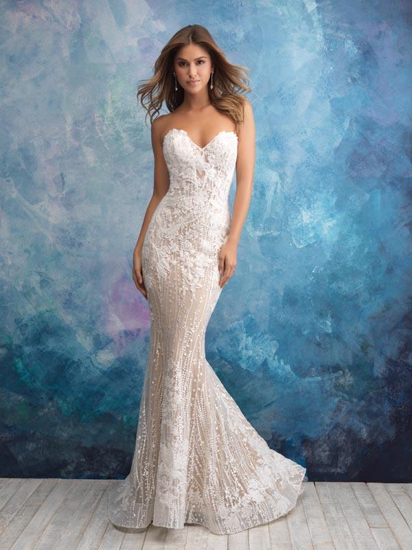 5ee285a13dd3 Abito da sposa a Sirena  caratteristiche e segreti del modello più ...