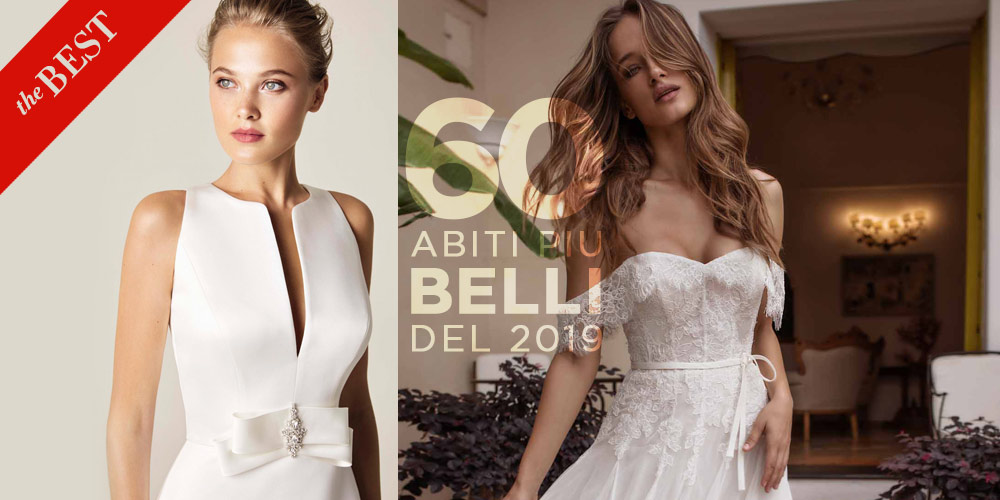 Abiti da sposa più belli del 2019  ecco le foto dei 60 modelli che ... 6bbb67dd5d8