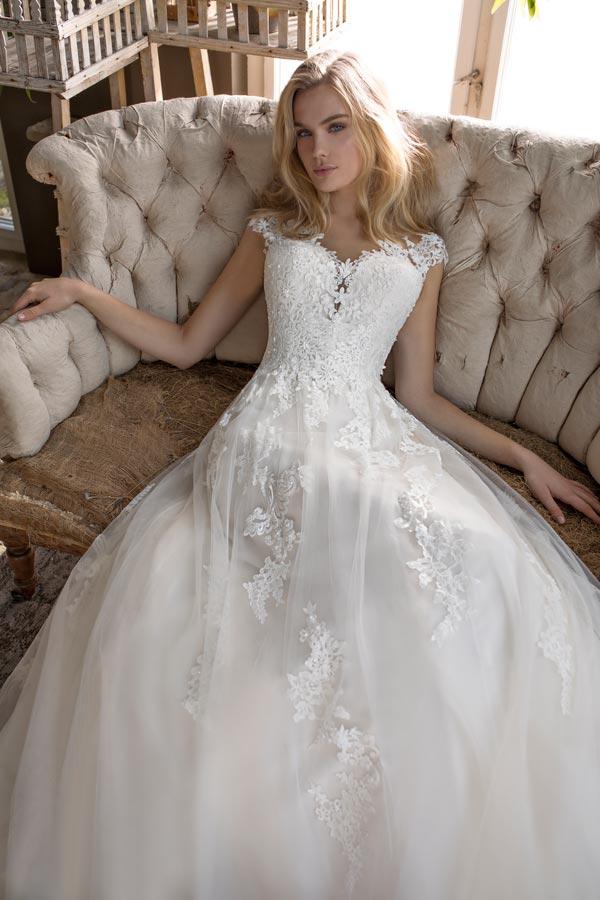 abito da sposa principessa