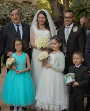 Matrimonio in beneficenza, a Palermo si avvera il sogno di Rosalia ed Emilio