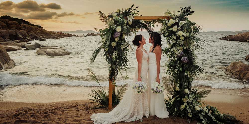Matrimonio Tema Sardegna : Sara events il matrimonio sardo di cheryl e leslie sposi magazine