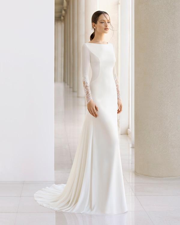 Vestiti Semplici Da Sposa.Abiti Da Sposa Semplici I Modelli Per Chi Punta Su Sobrieta Ed