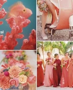 Colore matrimonio 2019: le nozze sono all'insegna del Living Coral!