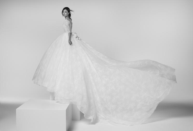 abiti da sposa con le maniche
