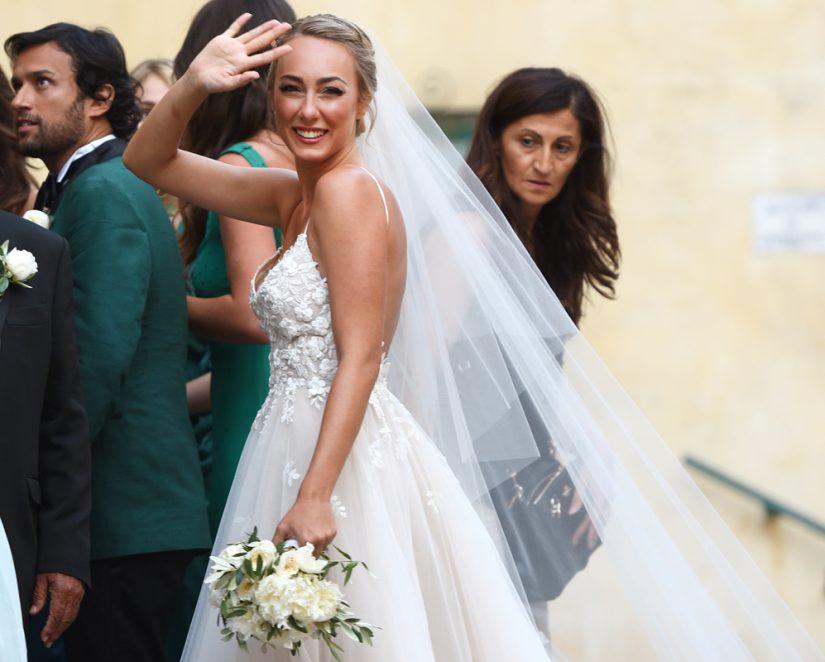 Bouquet Sposa Ilary Blasi.Abiti Da Sposa Delle Star Ecco Tutti Quelli Che Ci Hanno Fatto