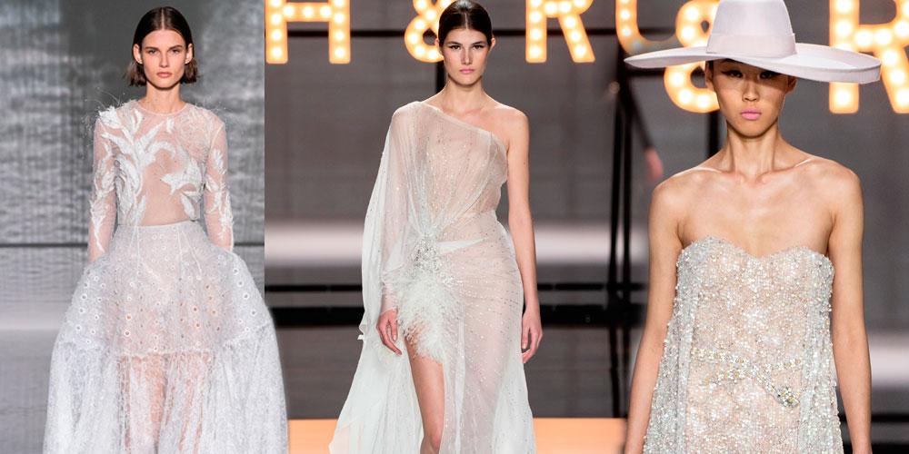 Abiti da sposa di alta moda 2019  a Parigi i grandi stilisti ... 0cd61b6ad66