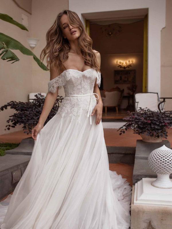 abiti da sposa in pizzo