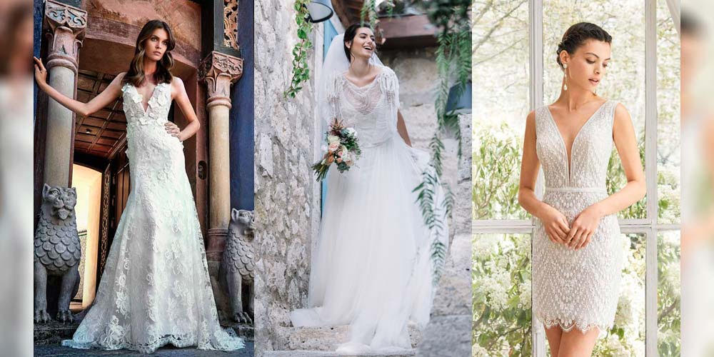 Abiti da sposa per stile  tendenze ed ispirazioni per il vostro ... d2db8914668