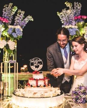 "Bonheur du Jour firma le nozze ""fatate"" di Valentina e Julio"