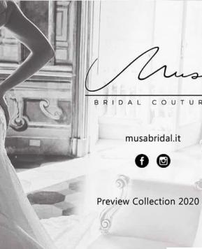 Musa Bridal Couture, la collezione 2020 alla Rome Bridal Week
