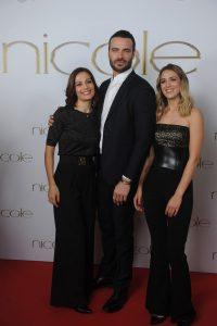 Nicole fashion group, Alessandra Rinaudo, Giulio Berruti e Nicole Cavallo