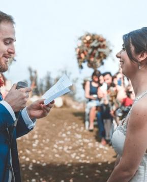 Romina Davì firma le nozze siculo-francesi di Maria e Thibaud