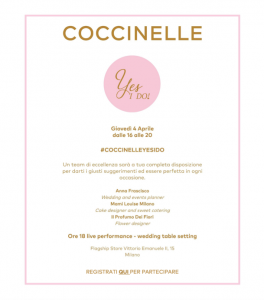 Coccinelle Yes I Do