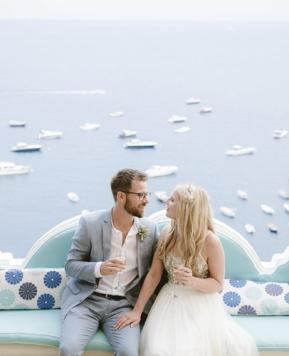Colori pastello e sapore di limoni per le nozze a Positano firmate dalla Wedding Planner Sandra Santoro