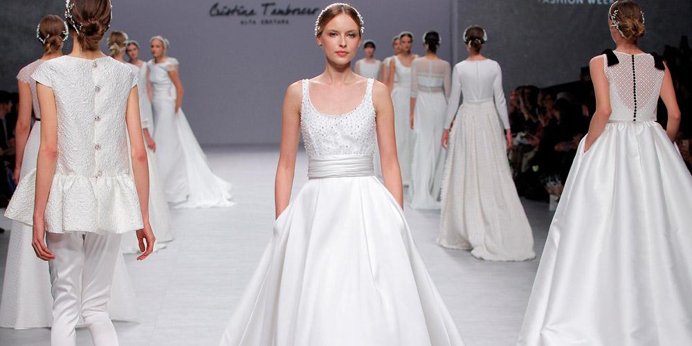 Abiti da sposa Cristina Tamborero 2020