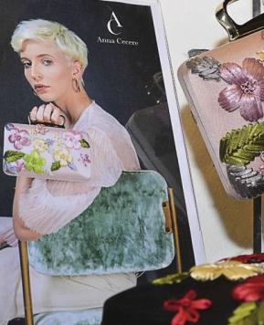Anna Cecere 2020, romantiche borse alla Milano Bridal Week