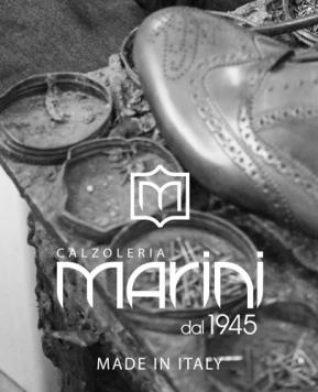 Scarpe da uomo Calzoleria Marini 2020, modelli a punta e pellami pregiati