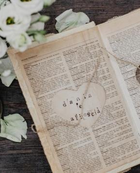 """Danila Stella, la wedding crafter che realizza le nozze """"a mano"""""""