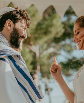 Loviù Events, in Sicilia un matrimonio ebraico in stile Arabian Desert