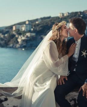 Il fotografo Diego Giusti racconta il matrimonio toscano vista mare di Gessica e Nazzareno!