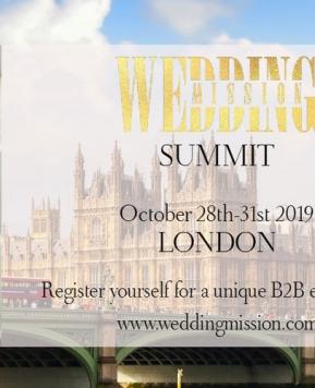 Wedding Mission Summit, a Londra l'evento internazionale per i professionisti del settore