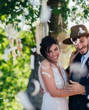 Guya Weddings e il matrimonio boho chic di Beatrice e Nicolò!
