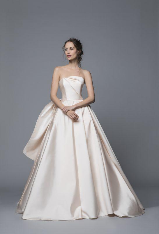 Antonio Riva abito da sposa rosa