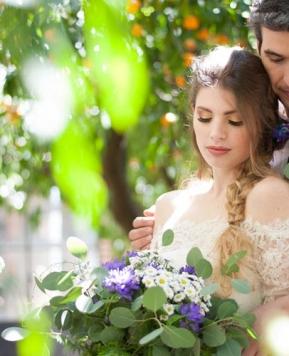 """Matrimonio 5 sensi, le nozze """"sensoriali"""" di Federico e Laura"""