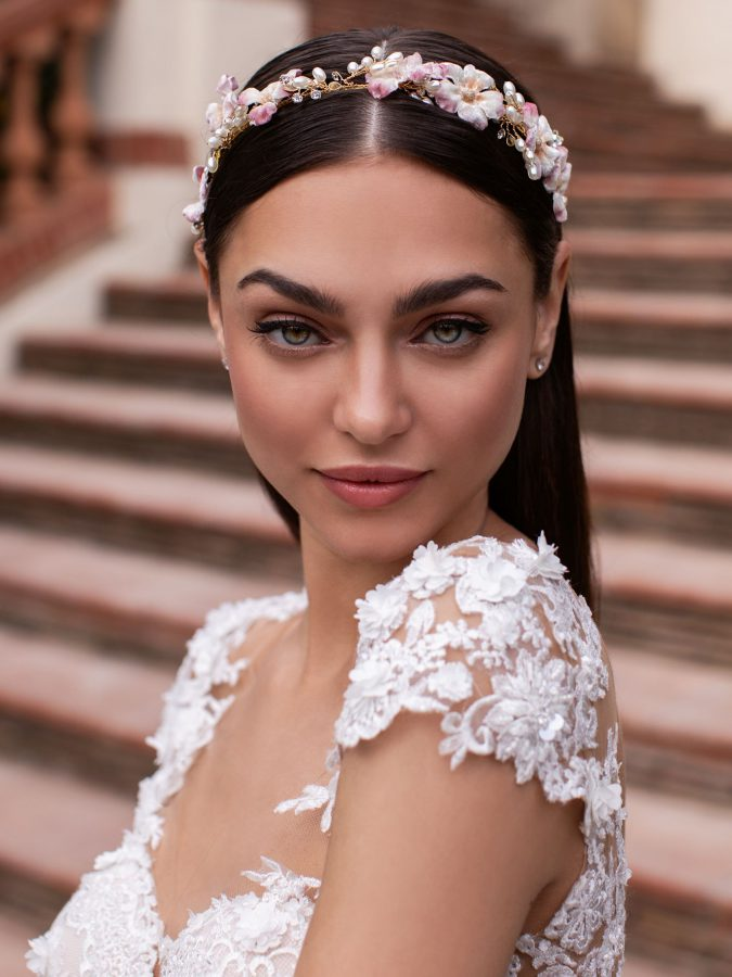 Acconciatura capelli Pronovias 2020
