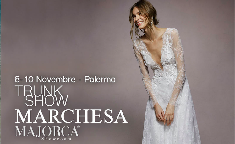 Trunk Show Marchesa Bridal Majorca
