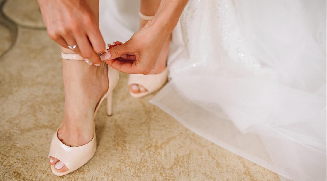 sandali da sposa
