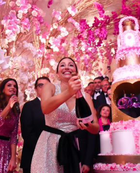 Weddings Luxury Awards 2019, Cira Lombardo incanta e offre uno show da Mille e Una Notte