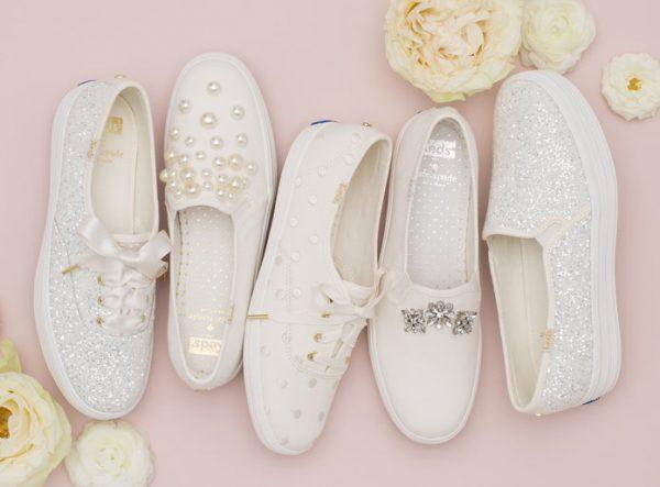 Sneakers sposa Kate Spade New York